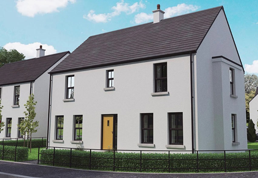 A spacious detached tunkey home at the popular new Cumber View development in Claudy.